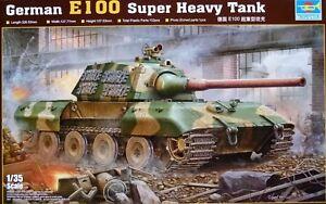 Trumpeter 1:35 GERMAN E100 Super Heavy Tank Model Kit