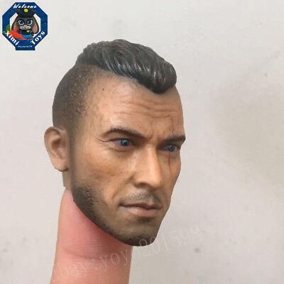 "1:6th Scale CIAN Jean Claude Van Damme Head Sculpt For 12/"" Male Toys Action"