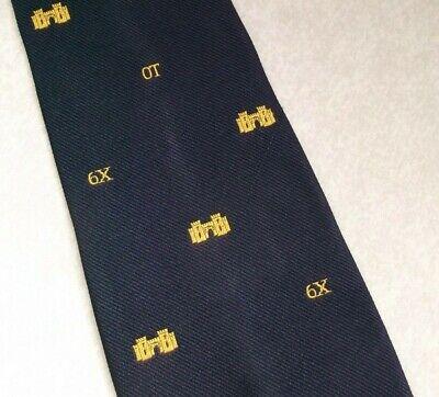 Buono Vintage Cravatta Da Uomo Cravatta Crested Club Associazione Società Castle 6x Crest Sport-mostra Il Titolo Originale Piacevole Al Palato
