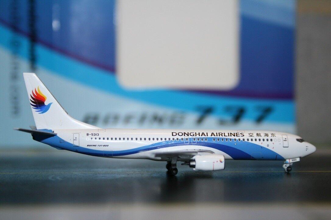 Panda Model Skywings 1 400 Donghai Airlines Boeing 737-800 B-5313 (PM-B-5313)