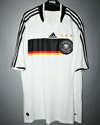 Sports Mem, Cards & Fan Shop Fan Apparel & Souvenirs Sweet-Tempered Germany National Team 2008/2009 Home Football Shirt Jersey Trikot Adidas Gomez Meticulous Dyeing Processes