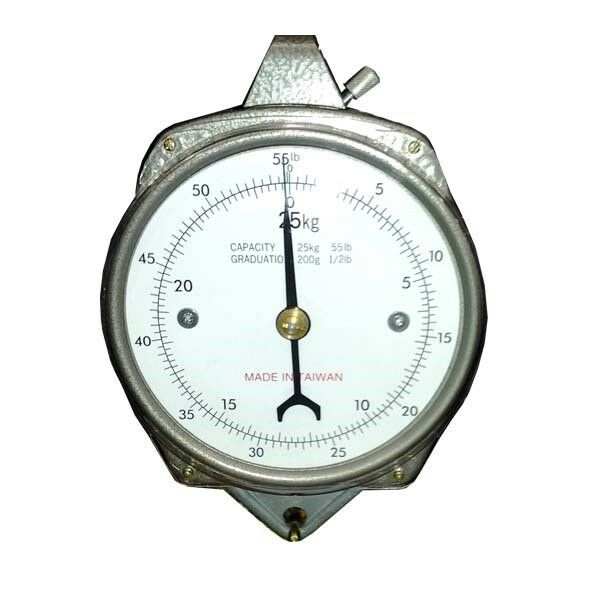 Zenport AZDH50 Accuzen Mechanical Hanging Dial Scale 50 Pound