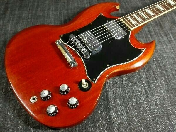 Electric guitar Gibson USA SG STANDARD HC rare useful EMS F/S