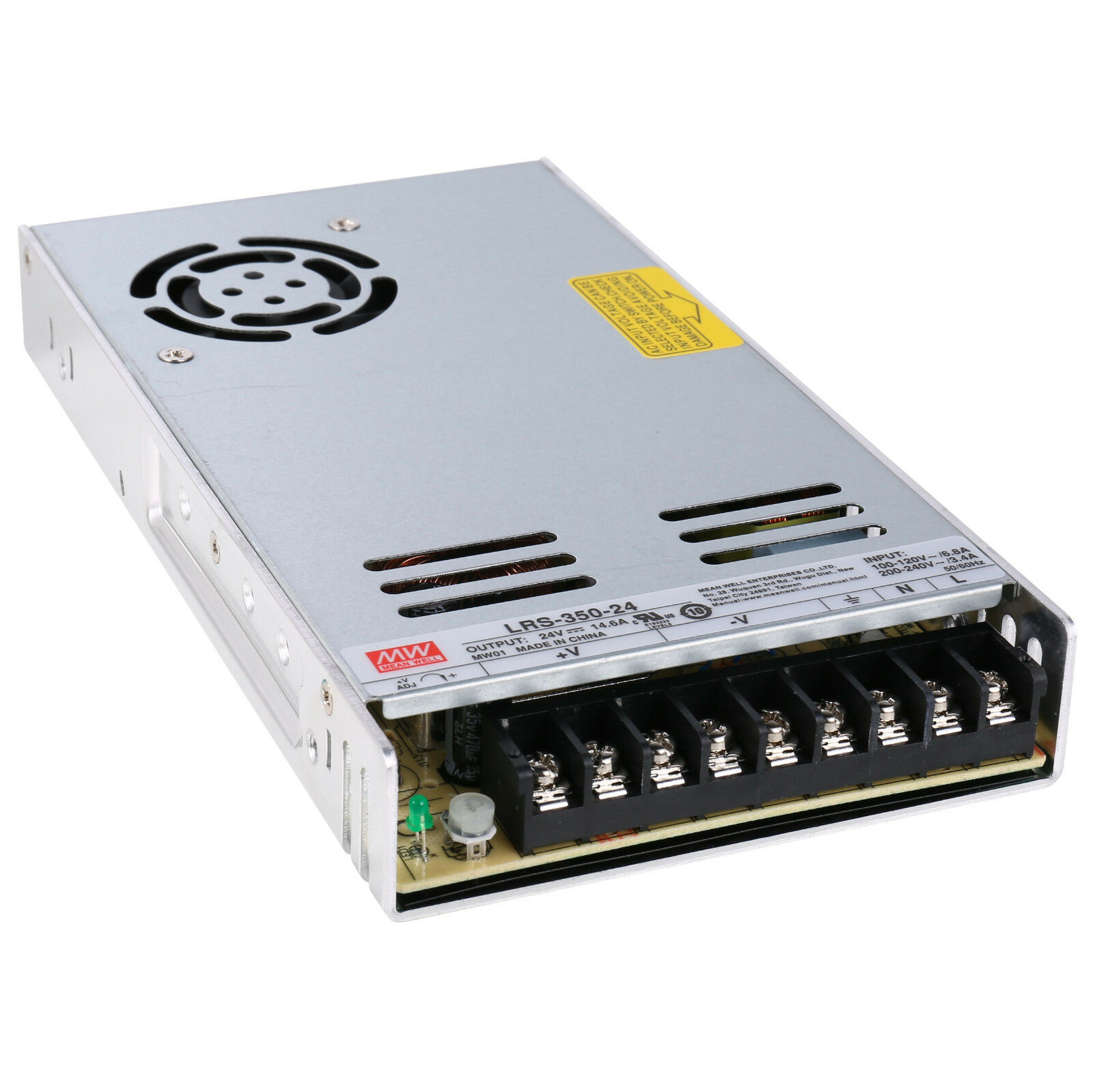MeanWell LRS-350 350W 350W 350W Enclosed Low Profile Single Output Switching Power Supply 9ded6a