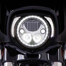 Ciro Black LED Headlight Bezel for Harley - 45201