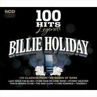 100 Hits Legends: Billie Holiday by Billie Holiday (CD, Jul-2010, 5 Discs, 100 Hits)