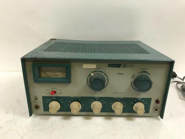 Rare Heathkit Dx60 Ham Radio Transmitter Meters Working For Sale Online Ebay