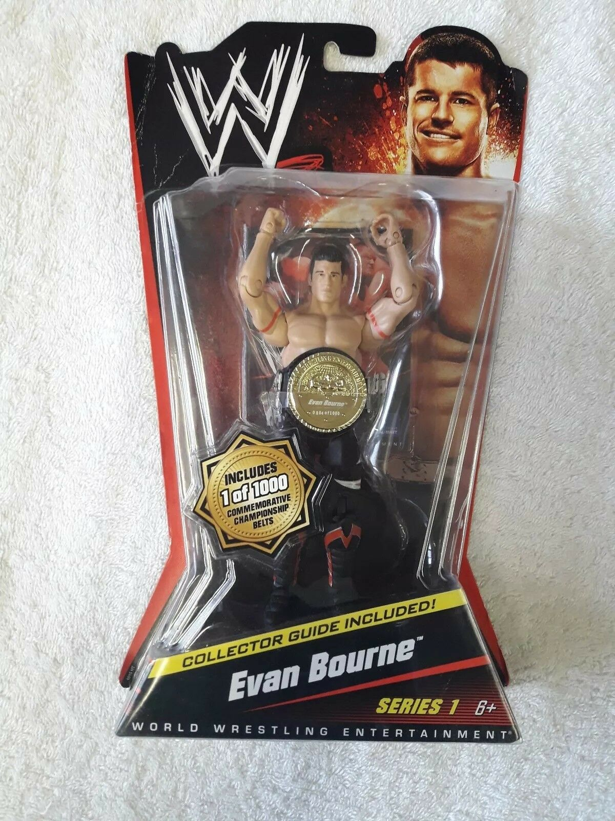 WWE Evan Bourne Mattel Series 1 RARE NEW