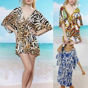 WHOLESALE-BULK-LOT-OF-10-MIXED-STYLE-Tunic-Kaftan-Long-Top-Beach-Cover-Up-sw017