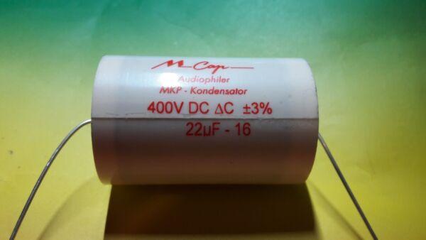 1 Mundorf Mcap 22µf 400v Mkp Kondensator