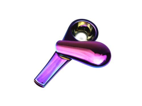 Metallpfeife Pfeife Regenbogen Rainbow Pipe edle magnetische Metallpfeife