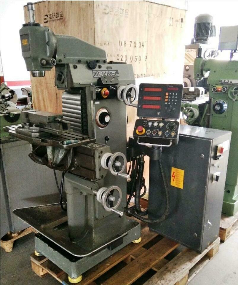 Deckel FP 1 Aktiv 2 Achsen Werkzeugfräsmaschine