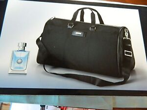 NIB Versace Men Eau de Toilette 3.4 fl oz. Versace Duffle Bag ... 3369e796b6