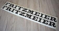 Fritzmeier 2x Aufkleber für Verdeck Kabine .