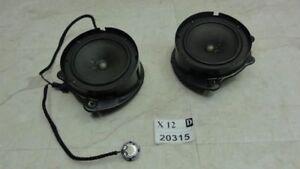 2000-2006 s500 s55 driver passenger side front door audio speaker set OEM