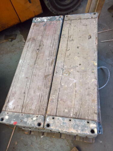 Plettac Holzboden Holzböden 110cm  Dielen Gerüstdielen Boden Gerüstboden Gerüst