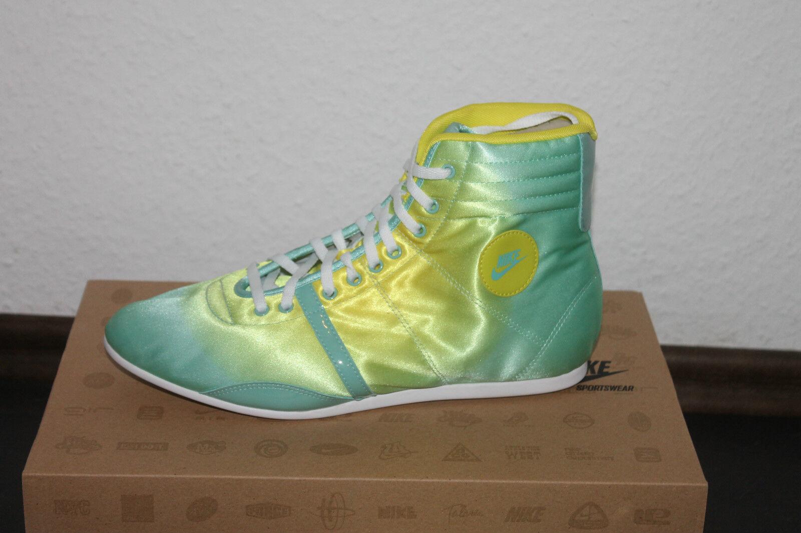 Nike Wmns Wmns Wmns Hijack Mid Mujer Zapatilla Deportiva Retro todas tallas Amarillo verde  Entrega directa y rápida de fábrica