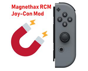Dettagli su Nintendo Switch RCM Joy-Con magnethax (sicuro e nessun danno a  differenza di una maschera di inserimento)- mostra il titolo originale