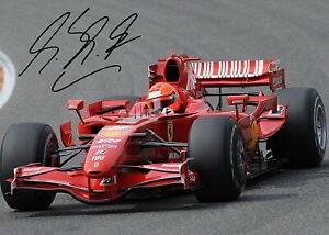 183608 Michael Schumacher Signed Formula One F1 Prix Decor WALL PRINT POSTER DE