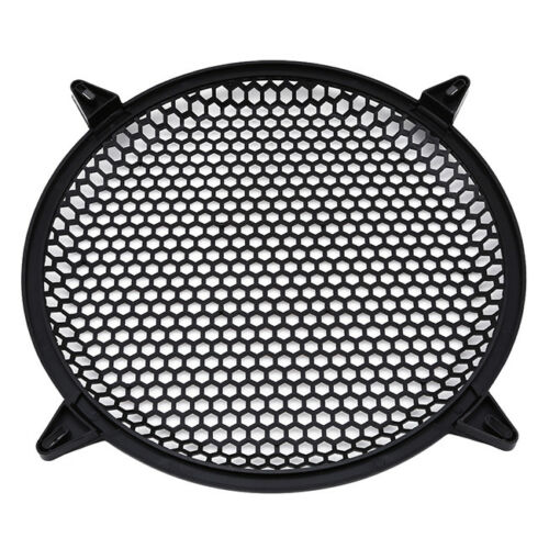 Sub Woofer Mesh Cover Waffle Speaker Grill Protect Guard DJ Car Audio S