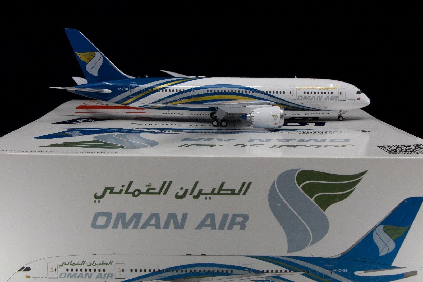 Inflight200 1/200 Oman Air 787-800 A40-SO