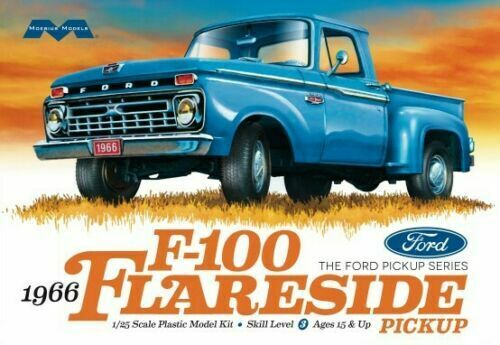 1966 Ford F100 Flairside Pickup model kit by Moebius mint in sealed box