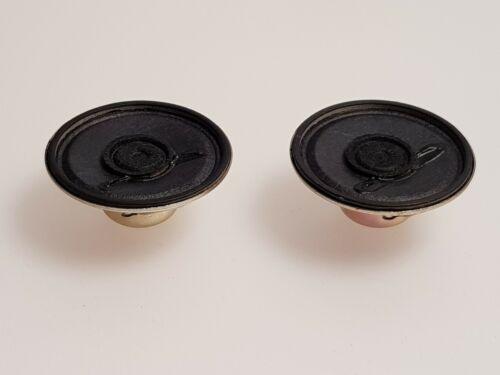 """16 Ohm 0.25W Altavoz proyectos de electrónica-conjunto de dos 1.5/"""" 38mm"""