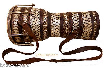 orient exotische musikinstrument afghanistan volksmusik Handtrommel Zerbaghali B