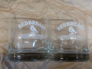 Redbreast Irish Whiskey Rocks Glasses- Set Of 2 (New)