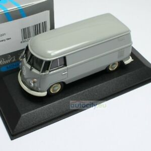 MINICHAMPS-VW-T1-DELIVERY-VAN-GREY-430052201