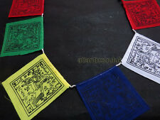 PF3 Tibetan multi-color Buddhist windhorse gift Cotton 10pcs Prayer Flags Nepal