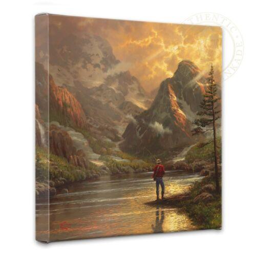 Thomas Kinkade Almost Heaven Wrap 14 x 14 Canvas Wrap