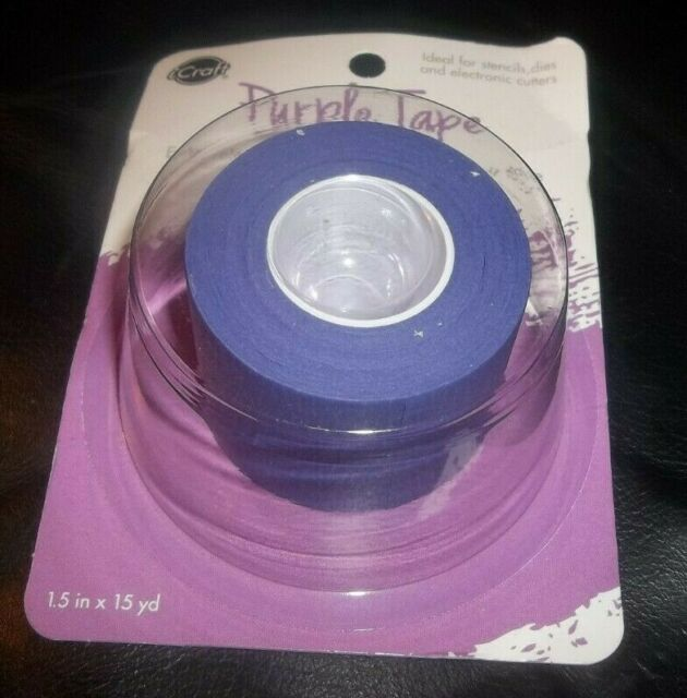 Thermoweb iCraft Removable Purple Tape .5 X15yd Roll