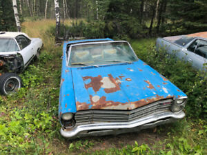 1967 Ford Galaxie Convertible and Parts Car