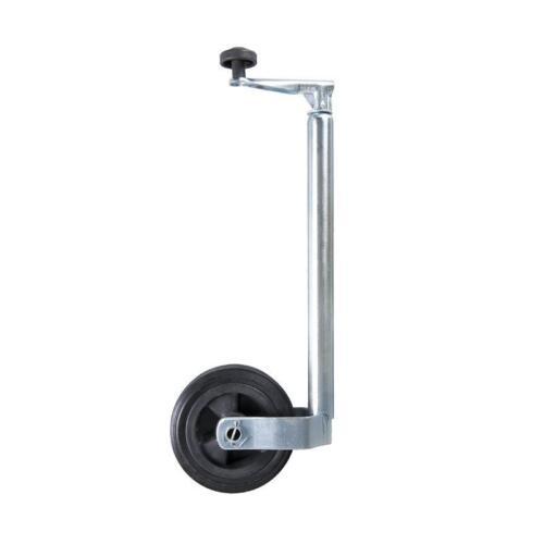 Stützrad 35mm Kunststoff-Felge mit Vollgummi-Reifen 160x40mm Bugrad Deichselrad