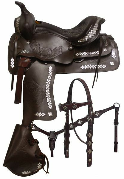 Double T 16 , 17  Parade Saddle.