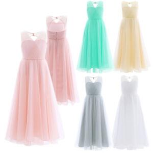 Elegante-Vestido-de-Ceremonia-Flor-Fiesta-de-Largo-de-Boda-Princesa-para-Ninas