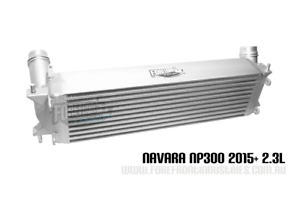 NP300 Intercooler suits D23 Navara  2.3L 2015+ 4x4 turbo  20% larger upgrade
