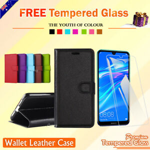 For-Huawei-Y7-Pro-2019-Y6-2018-Y5-Wallet-Leather-Case-Flip-Card-Pocket-Cover-OZ