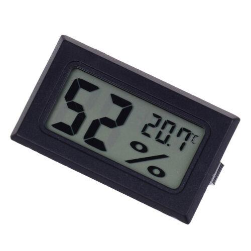 Small size digital lcd thermometer hygrometer humidity temp meter measuringPDH