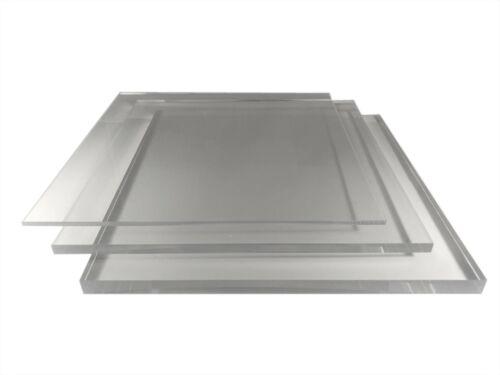 12mm Plexiglas Acrylglas Platte Scheibe KOSTENLOSER Zuschnitt und Versand
