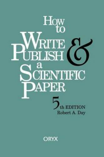 how to write a scientific paper book