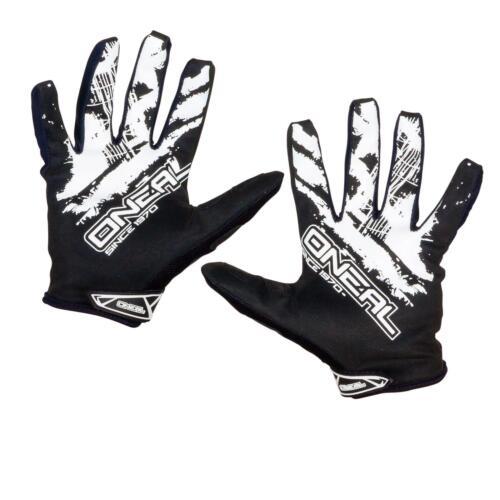 ONeal Jump Glove Shocker Schwarz Weiß Handschuhe MX MTB Mountainbike Motocross
