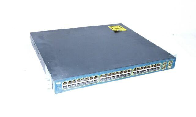 Cisco Systèmes Catalyseur 3560G WS-C3560G-48TS-S Commutateur de Réseau