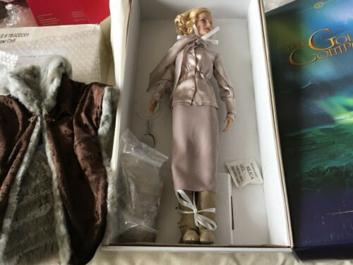 "Tonner Tyler 16"" Golden Compass Nicole Kidman Doll Bolvangar Chill W/Monkey +Box by Tonner"
