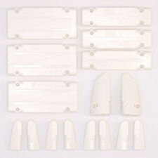 Lego Technic - White Studless Panels Fairings Bricks - Selection 16 Parts - NEW