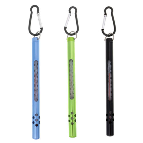 Fly Fishing Thermometer Stainless Steel Case Water Thermometer Fishing ToolRSDE