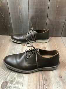 Sperry-Top-Sider-Harbor-Oxford-Mens-Size-10M-Brown-Leather-Lace-Up-Shoes-EUC-SS6