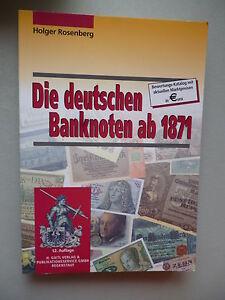 Die-deutschen-Banknoten-ab-1871-Bewertungskatalog-2001