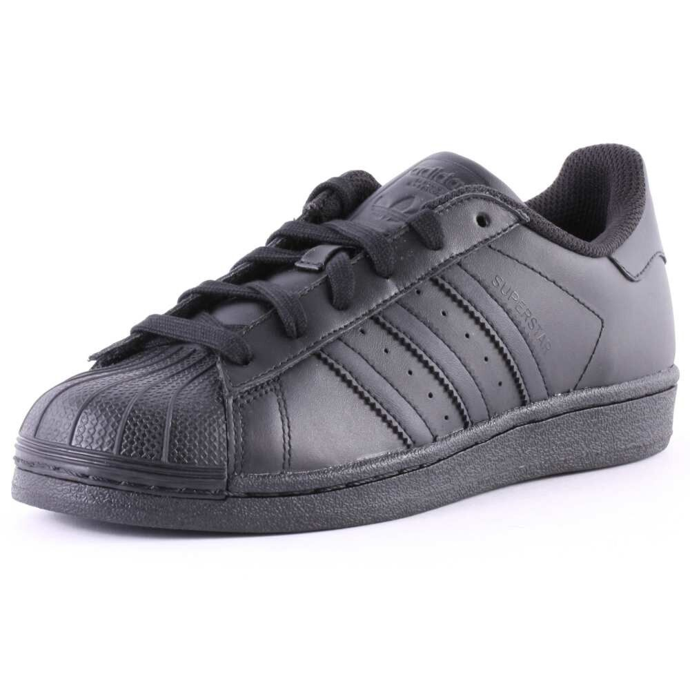 ADIDAS ADIDAS ADIDAS SUPERSTAR FOUNDATION ORIGINALS chaussures chaussures AF5666 LEATHER noir noir  2018 magasin